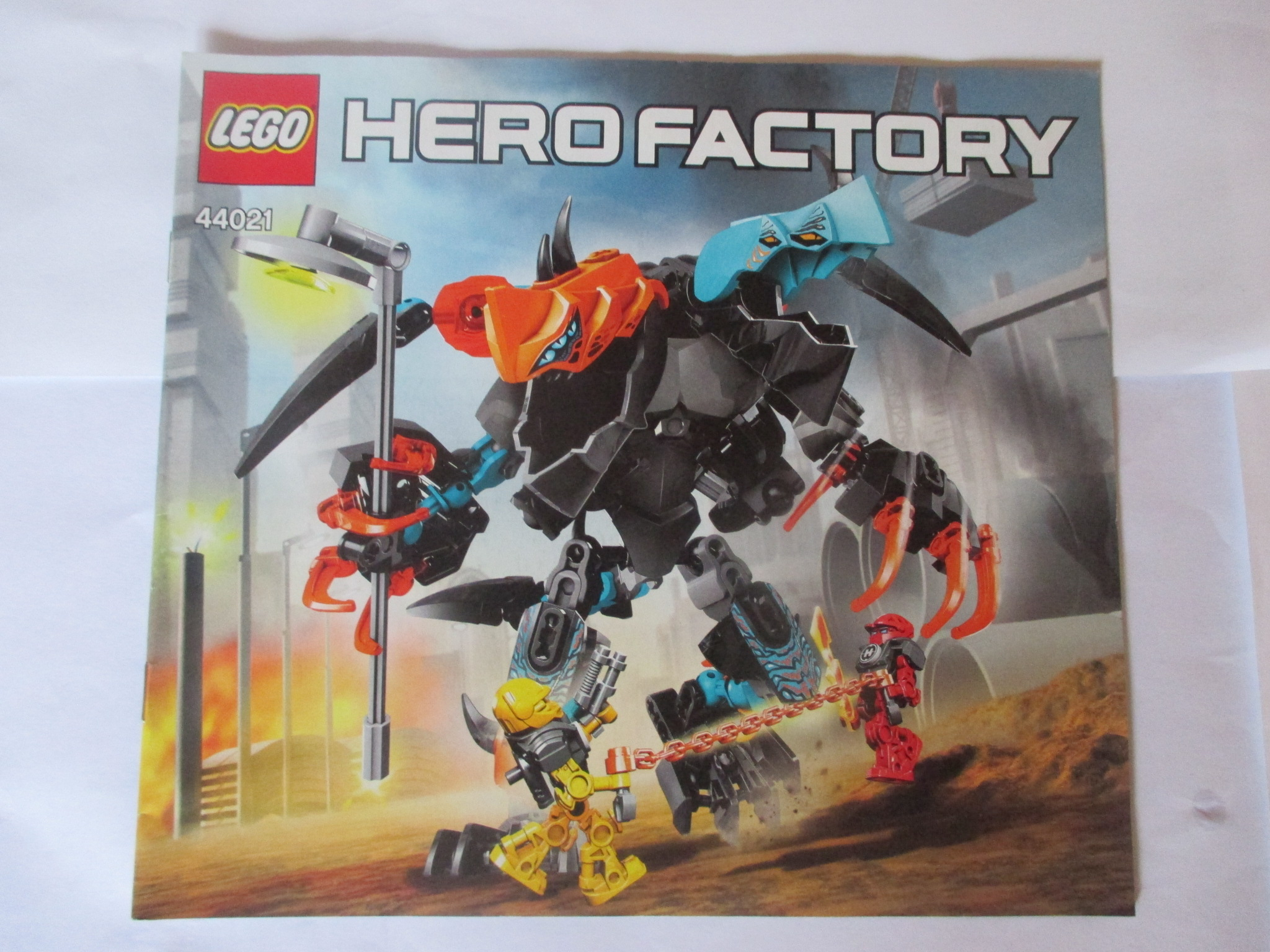 Lego Návod 44021 Hero Factory