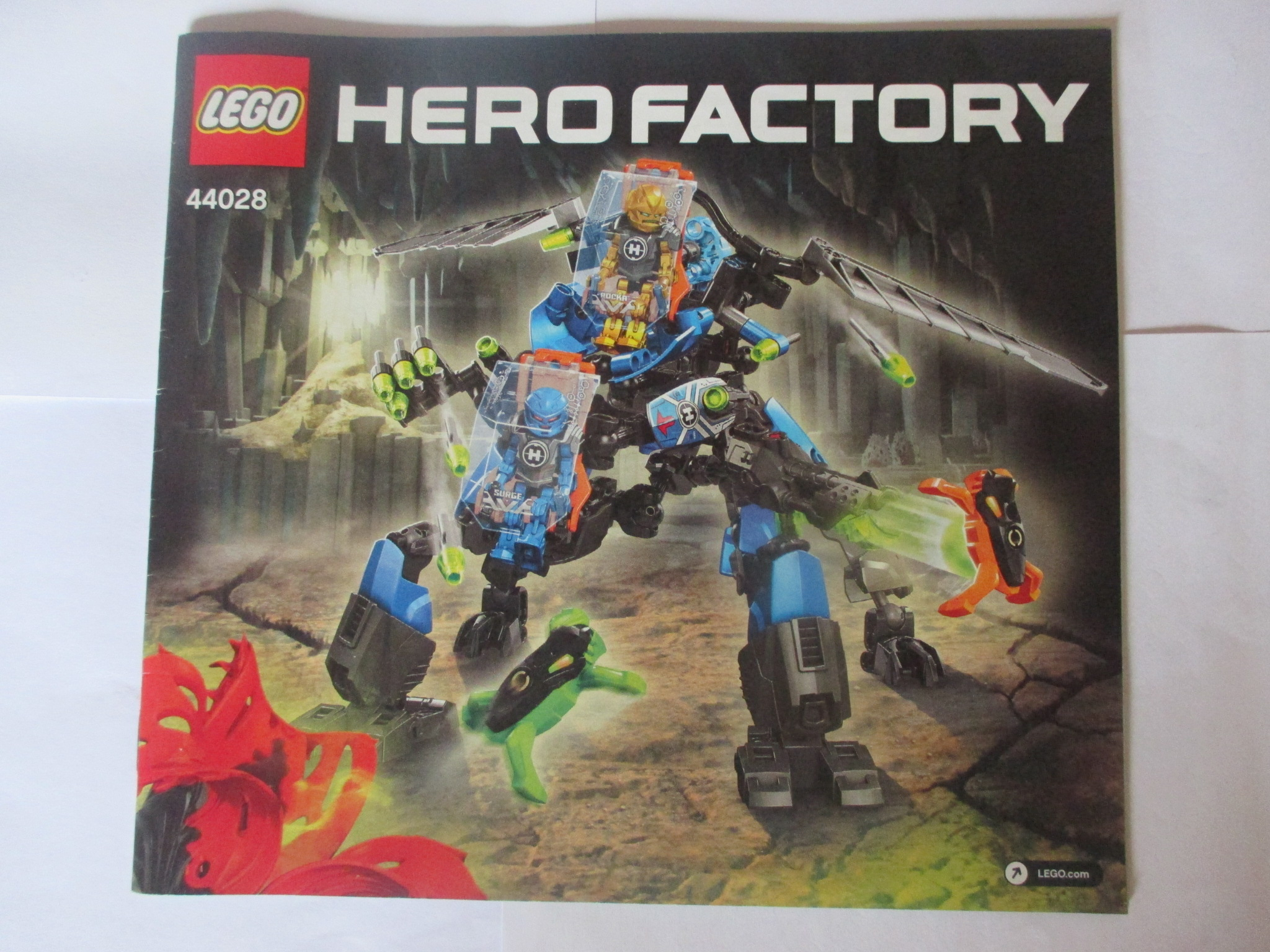 Lego Návod 44028 Hero Factory