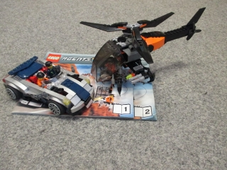 Lego Agents 8634 Mission 5: Turbocar honička