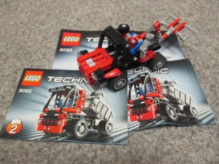 Lego Technic 8065 Mini náklaďák