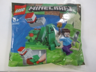 Lego Minecraft 30393 Steve a Creeper (polybag)