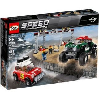 Lego Speed Champions 75894 1967 Mini Cooper s Rally a 2018 Mini John Cooper Works Buggy